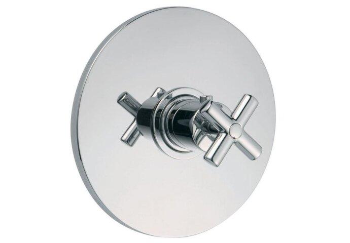 Huber Suite Inbouw thermostaat zonder stopkraan 23551HCR