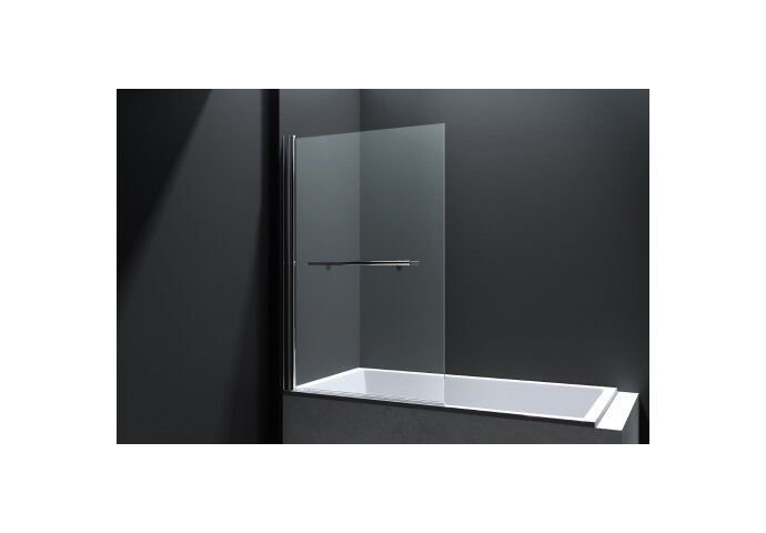 Badwand Best Design Erico 80x140 cm met Handdoekbeugel NANO Veiligheidsglas 6mm