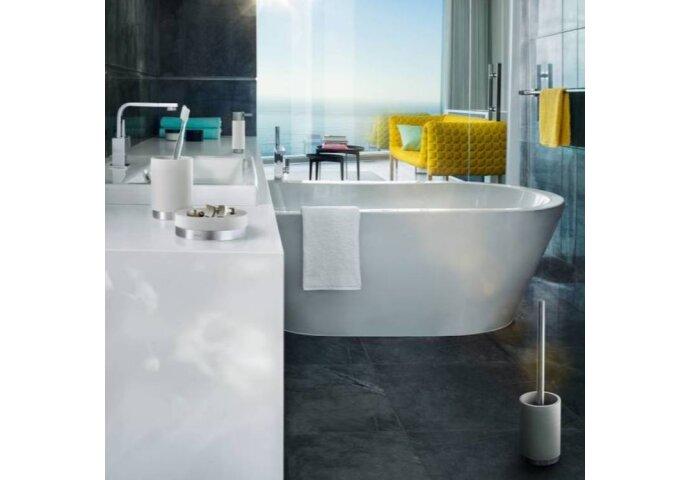 Toiletborstelset Blomus Ara Design Polystone Grijs