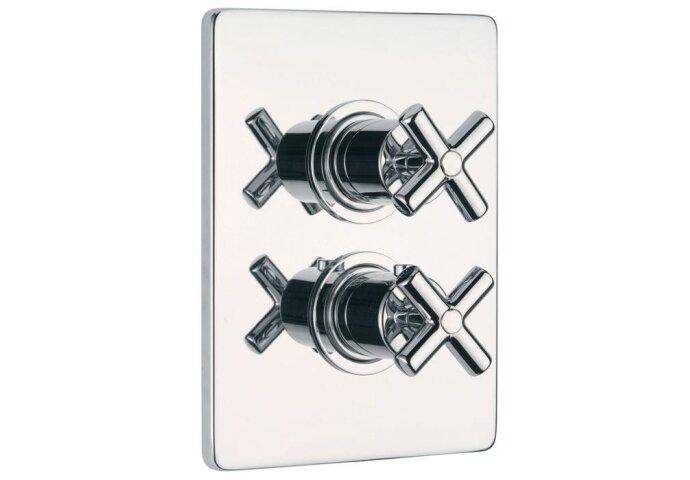 Huber Suite Inbouw thermostaat met stopkraan 239Q01HCR