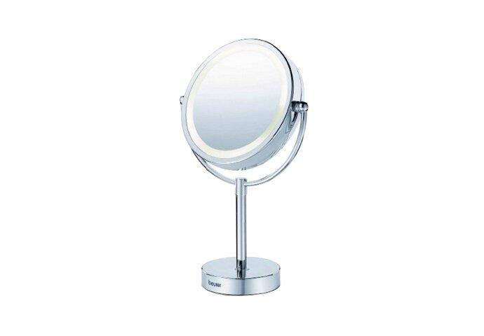 Scheerspiegel Beurer Met LED verlichting 230V Ø15cm Staand Vergrotend Chroom