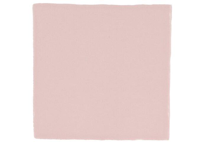 Vtwonen Wandtegel Villa Army Pink Mat 13x13 cm (doosinhoud 0.50 m2)