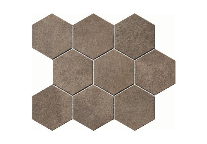 Hexagontegel Cristacer Umbria Taupe 35.5x29.2 cm