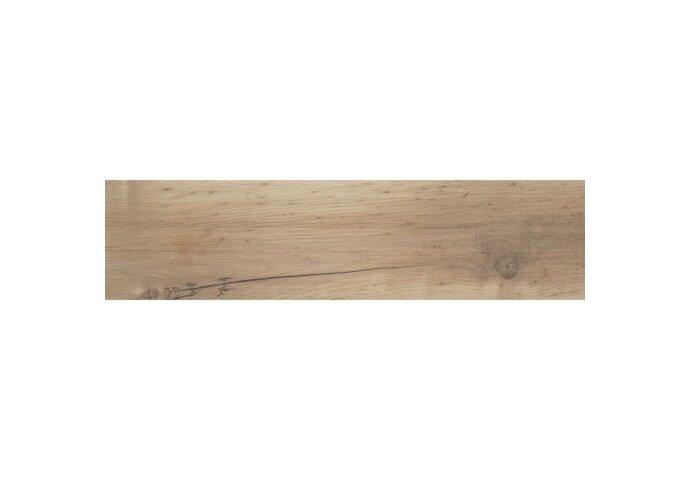 Vloertegel Alaplana Dundee 25x100 cm Beige (doosinhoud 1.25 m2)