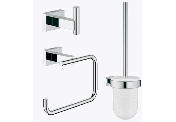 Complete Toiletset Grohe Basic chroom