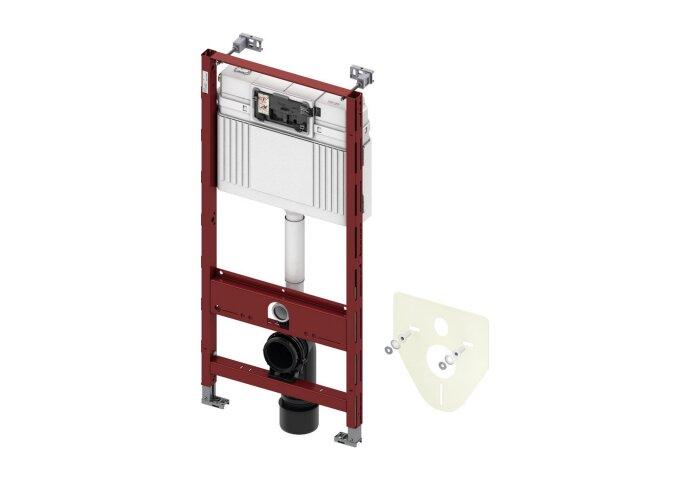 Inbouwreservoir Tece Frontbediening Bouwhoogte 112x50x15 cm