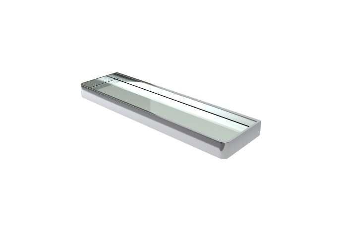 Planchet Haceka Aline Polished 46x3,5 cm Aluminium Glanzend Zilver