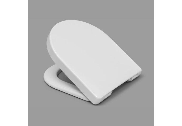 Toiletzitting Van Marcke Monviso Take-off Softclose Thermoplast Wit