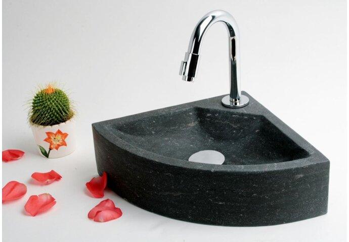 FonteinPack Natural hardsteen 30x30x10cm (Keuze uit 18 kranen)
