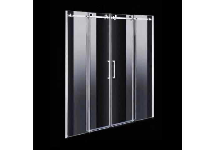 Nisdeur Boss & Wessing D&R Design 180x200cm 2 Roldeuren RVS