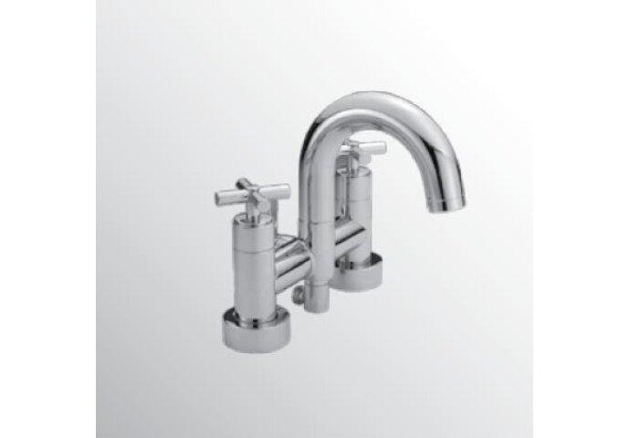 Huber Suite badkraan voor badrandmontage 263.ST01H.CR