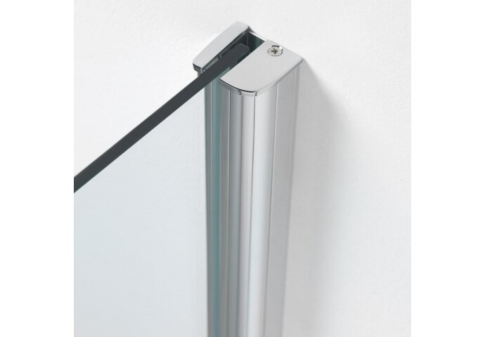 Nisdeur Get Wet by Sealskin Impact 90x195 cm Swingdeur Chroom/zilver Helder Glas