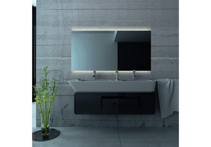 Badkamerspiegel Martens Design London met Verlichting en Verwarming
