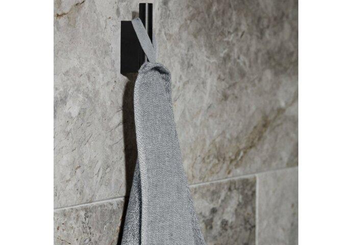 Handdoekhaak Blomus Modo 6x3 cm Wandbevestiging Gepoedercoat Edelstaal Zwart