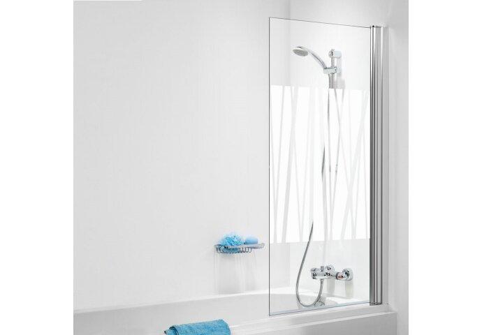 Badzijwand Sealskin 105 Get Wet 1-delig 70x140 cm Kabana Decor Glas Chroom