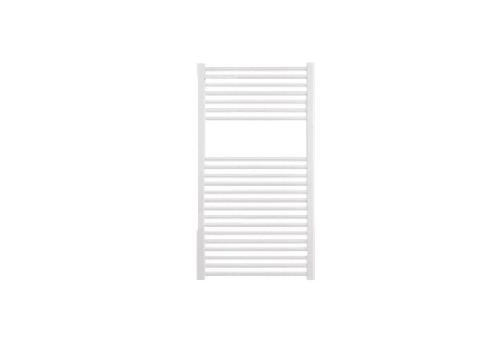 Designradiator Nile Gobi 120x60cm Wit Zij Aansluiting