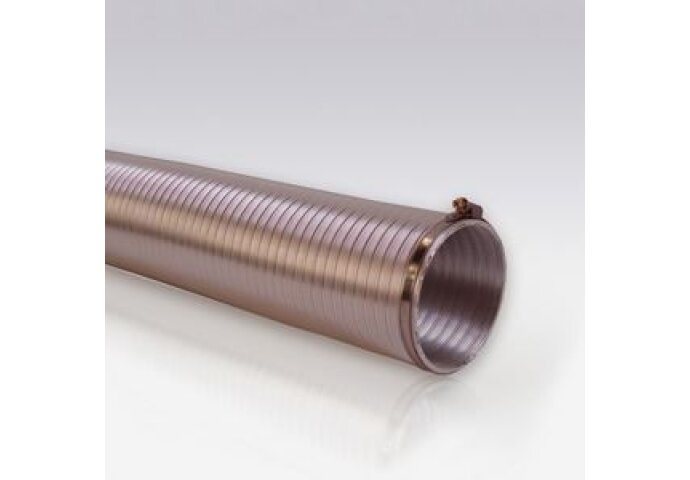 Compactslang Ø 125Mm X 2,5 M Aluminium   (Incl. 2 Slangklemmen)