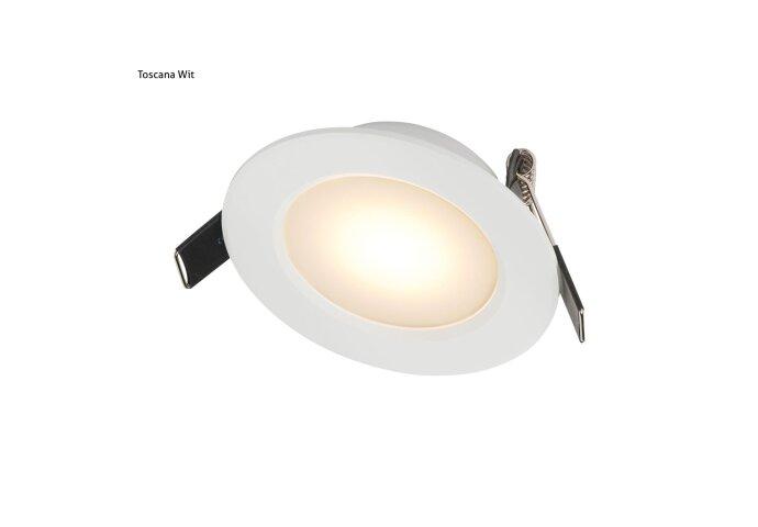 Schumann Inbouw Spotlamp Toscane Wit RAL 9016 set 2x