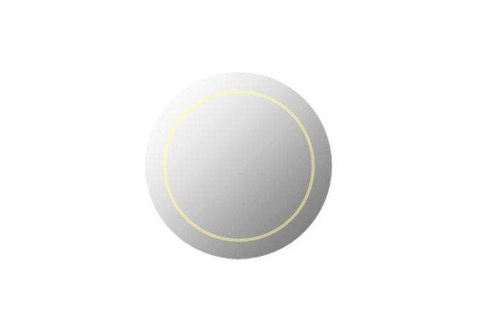 Basic spiegel met LED verlichting Ø60cm (Spiegels)