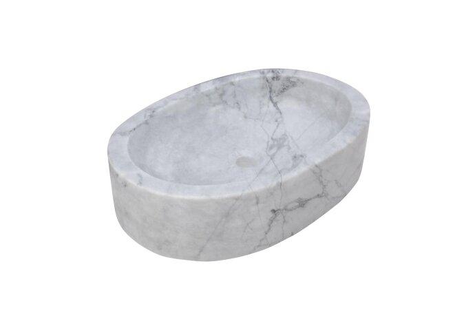 Fontein Forzalaqua Firenze Carrara Gepolijst 50x35x12 cm