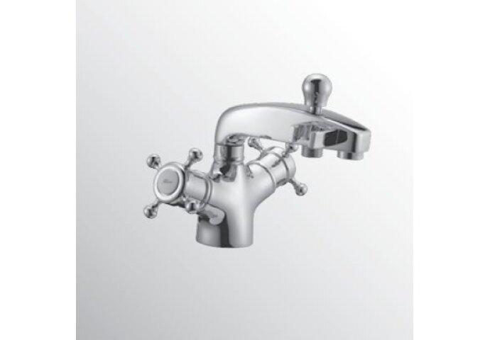Huber Victorian Thermostatische Badkraan voor badrandmontage RVS 107.VT01H.NS