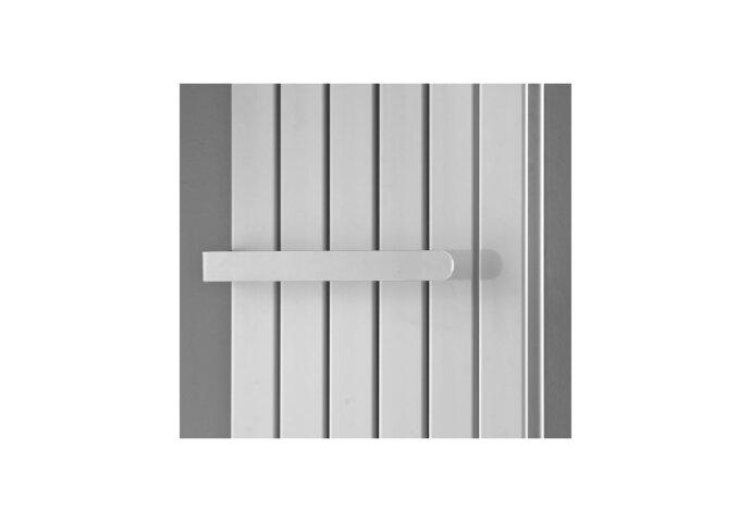 Millennium-dubbel los handdoekrek 40cm wit