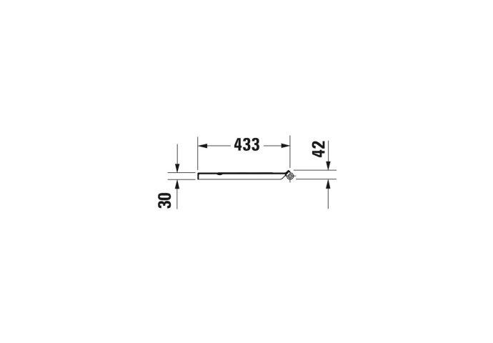 Duravit DuraStyle Basic Toiletzitting Softclose En Quickrelease Systeem 37.3x43x4.3 cm Thermoset Wit