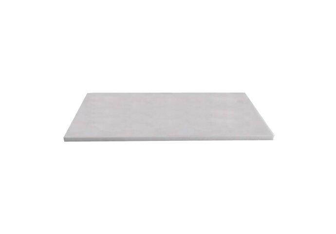 Wastafelblad Sanilux Marmer Natuursteen 100x47x3cm Wit 37100