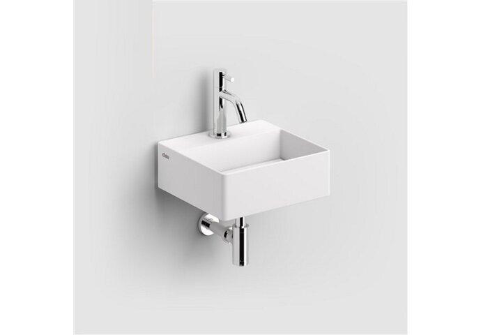 Fontein Clou Flush 1 28x27x10 cm met Plug Keramiek (zonder kraangat)