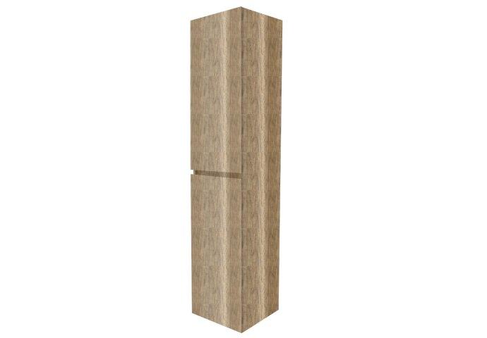 Kolomkast Gliss Design Paris 2 Deuren 160x35x35 cm Canyon Oak