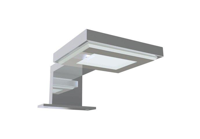 LED Spiegellamp Allibert Keli 13,2cm 1,8W 6500K Glanzend Chroom