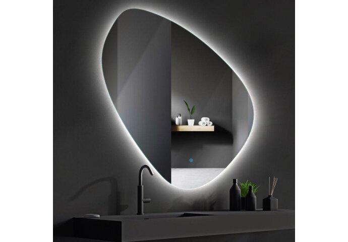 Badkamerspiegel LED BWS Spark Pendel 120x120 cm