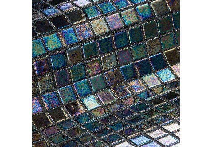 Mozaiek Ezarri Iris Ebano 2,5 2,5x2,5 cm (Doosinhoud 2 m²)
