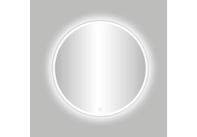 Badkamerspiegel Best Design Venetië White LED Verlichting 60x60 cm Rond Mat Wit