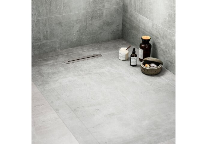Vtwonen Douchetegel 90X135 cm Mold Concrete