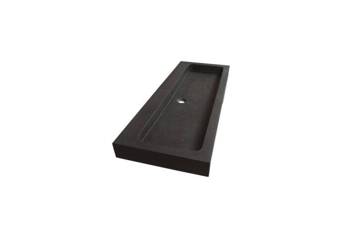 Wastafelblad Exclusive Line Black Spirit 120-1 Natuursteen 0 kraangaten