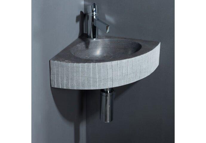 Forzalaqua Malmo Hardsteen Gefrijnd Antraciet 30x30x10 cm