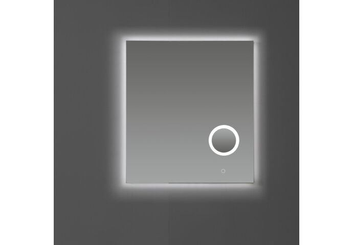 Badkamerspiegel Sanilux met Dimbare LED-Verlichting en Make-Up Spiegel (alle maten)