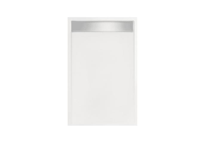 Douchebak rechthoek zelfdragend Easy Tray 100x80x5cm (Met mat of glans gootcover)