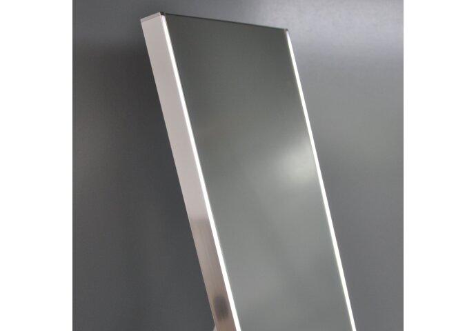 Staande Spiegel Wiesbaden Lensa met LED Verlichting 160x42 cm