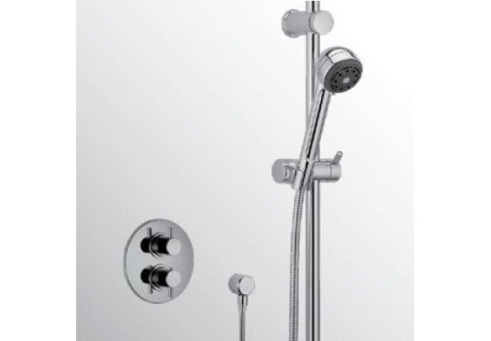 Huber Kiruna thermostatische inbouw doucheset chroom 910K.KR01H.CR