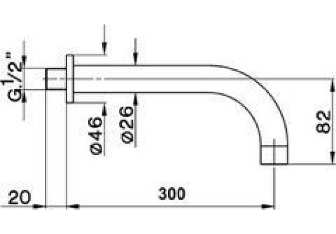 Cisal Less Baduitloop 300mm ZA0012522A