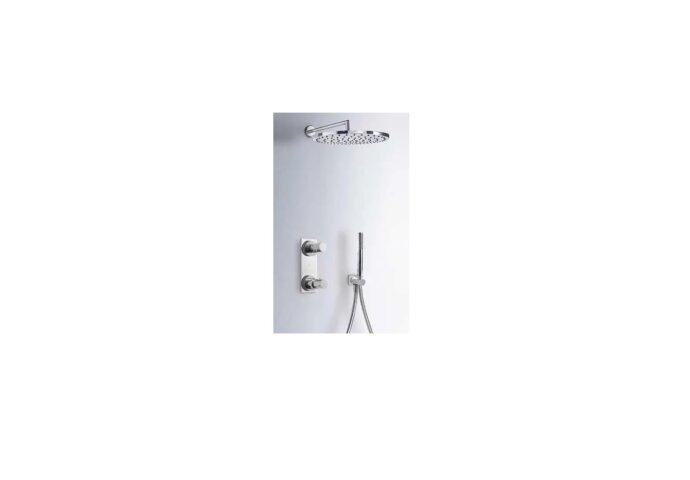 Tres Max inbouw doucheset thermostatisch chroom 06117502