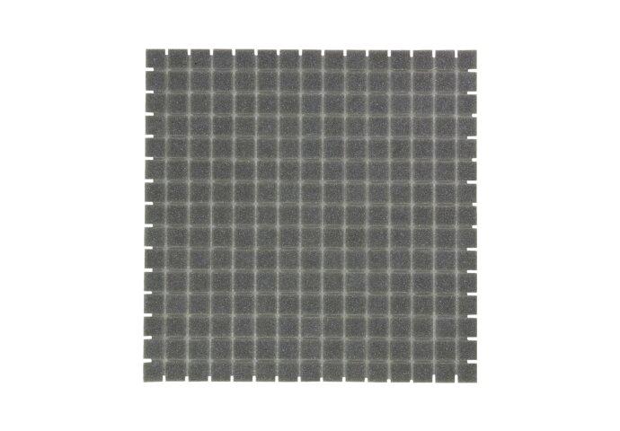 Mozaïek Amsterdam Basic 32.2x32.2 cm Glas Met Fijne Korrels Grijs (Prijs Per 1.04 m2)