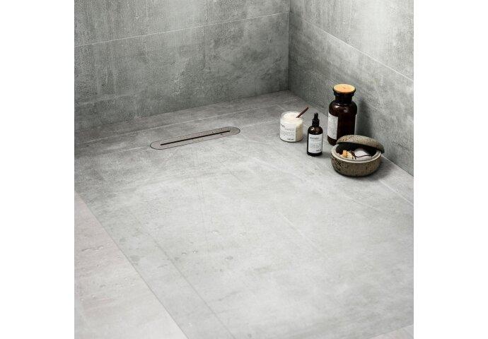 Vtwonen Douchetegel 90X135 cm Mold Basalt