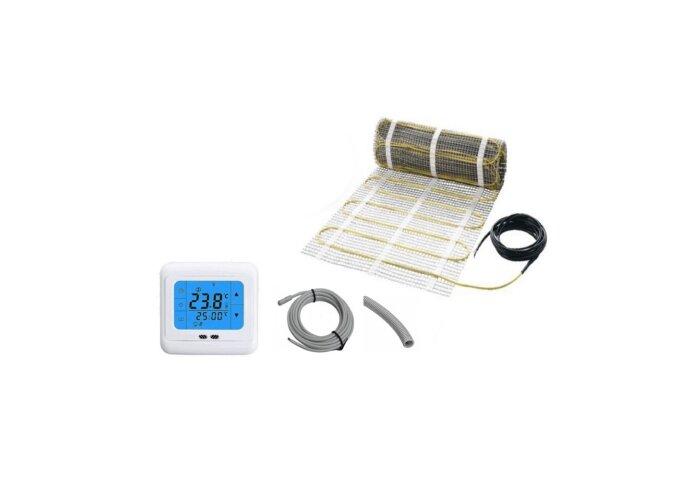 Vloerverwarming Best Design Cheap Elektrische Vloerverwarmingsmat 8m2 (150 Watt)