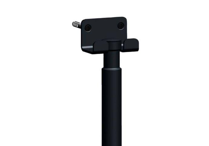 Luxe Vloerwisser Best Design met Safety-Grip RVS MAT ZWART