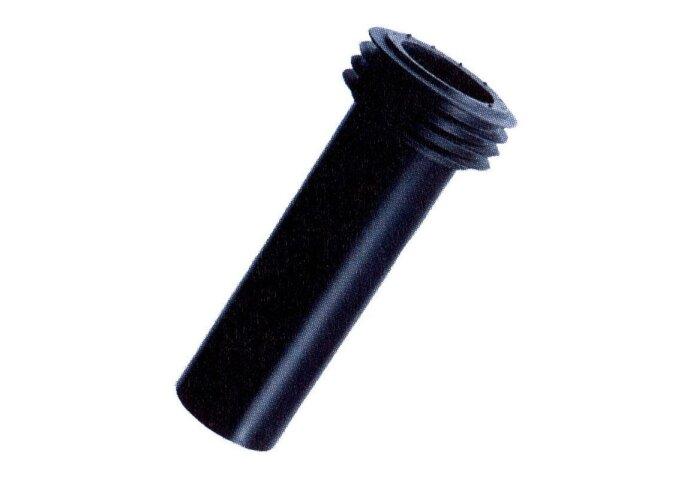 PE aansluitbuis 55mm L = 300mm (Toilet onderdelen)