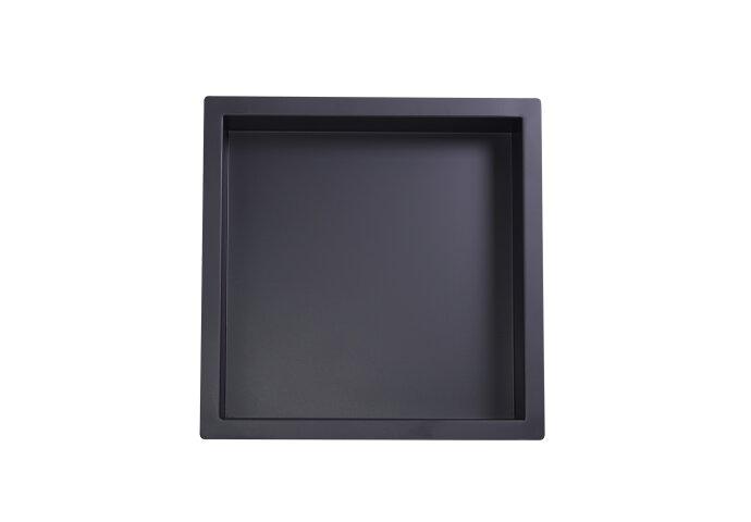 Inbouwnis Boss & Wessing Elegance Mat Zwart 30x30x10 cm