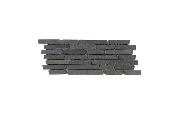 Mozaïek Horizontaal 15 Gray Marmer 30x15 cm (Prijs per 1m²)
